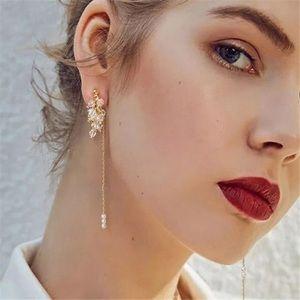 Melanie Pearl Drop Earrings